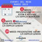 Calendario corsi ed eventi Marzo 2019