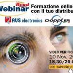 WEBINAR VIDEO VERIFICA E APP AVS ELECTRONICS| SICUREZZA