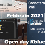 OPEN DAY KBLUE|DOMOTICA